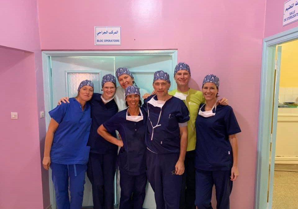 Oogartsen bieden humanitaire oogzorg in Marokko